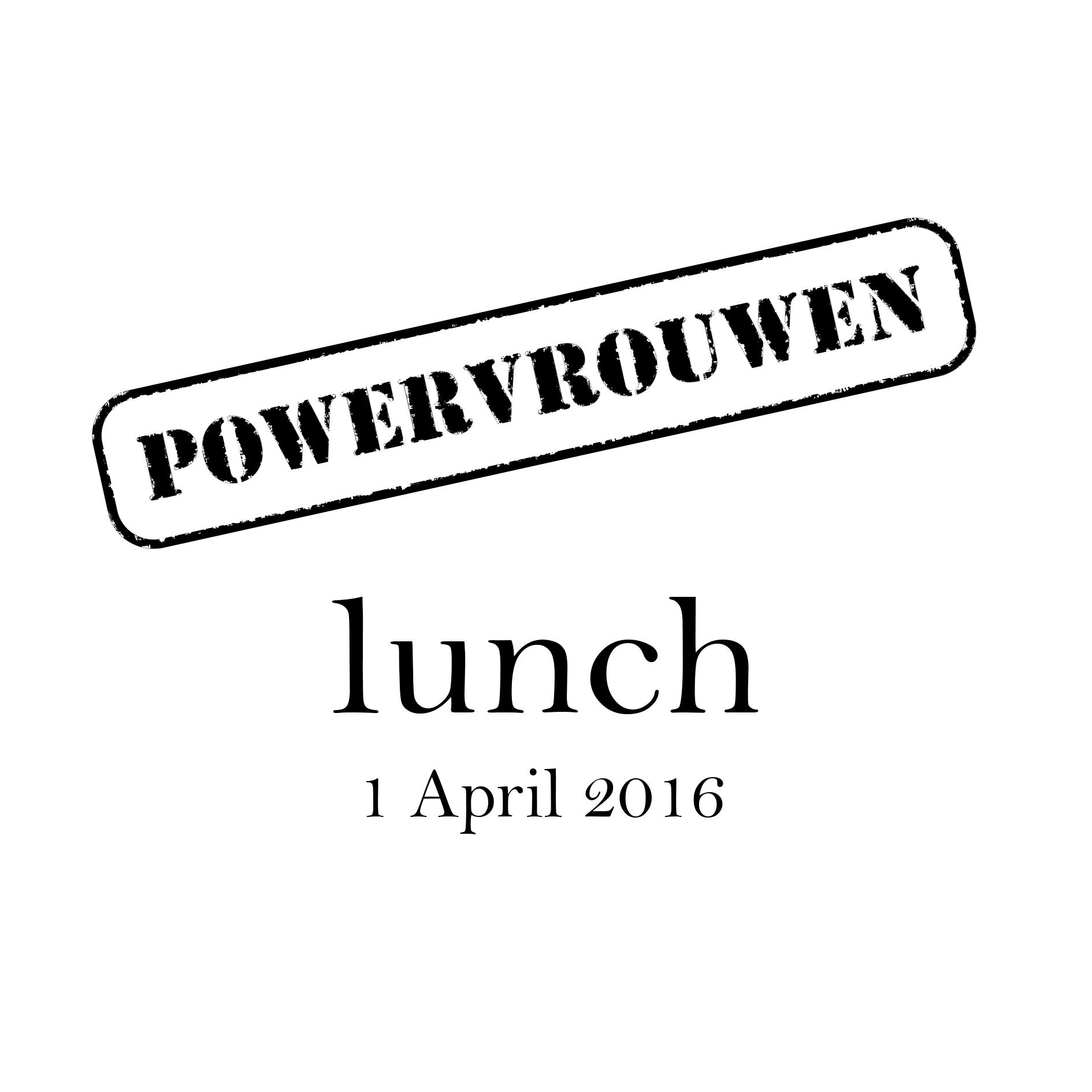 Powervrouwen Lunch