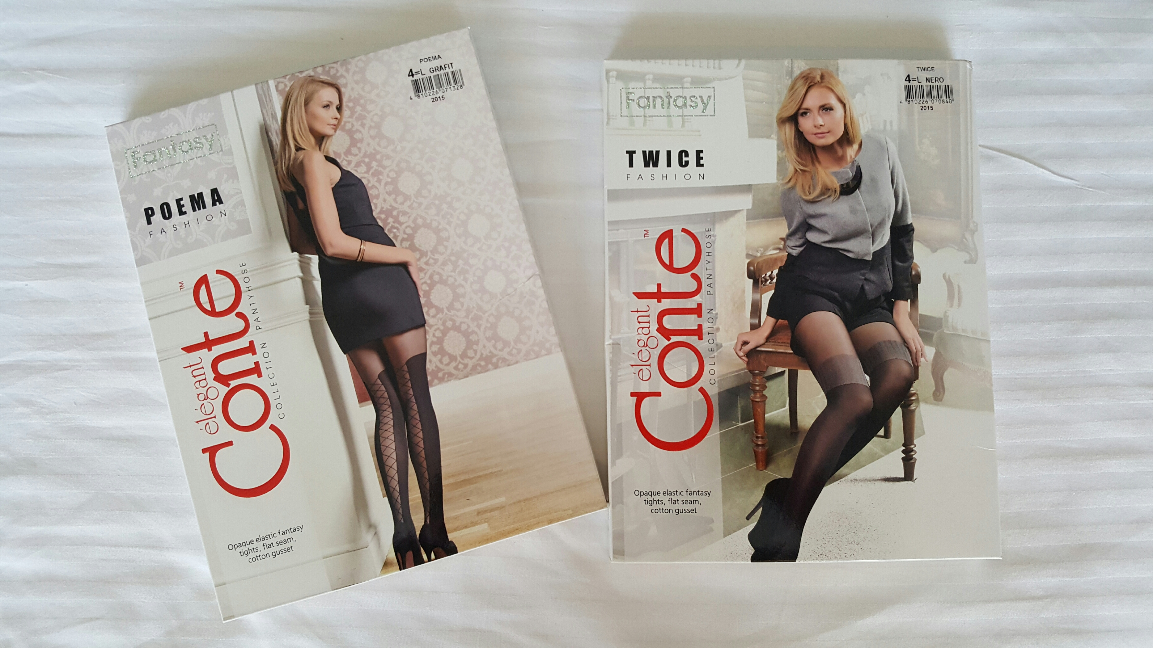 Happy met mijn Panties van: Elegant Conte | Blogged