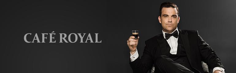 Geweldige samenwerking Cafe Royal en Robbie Williams