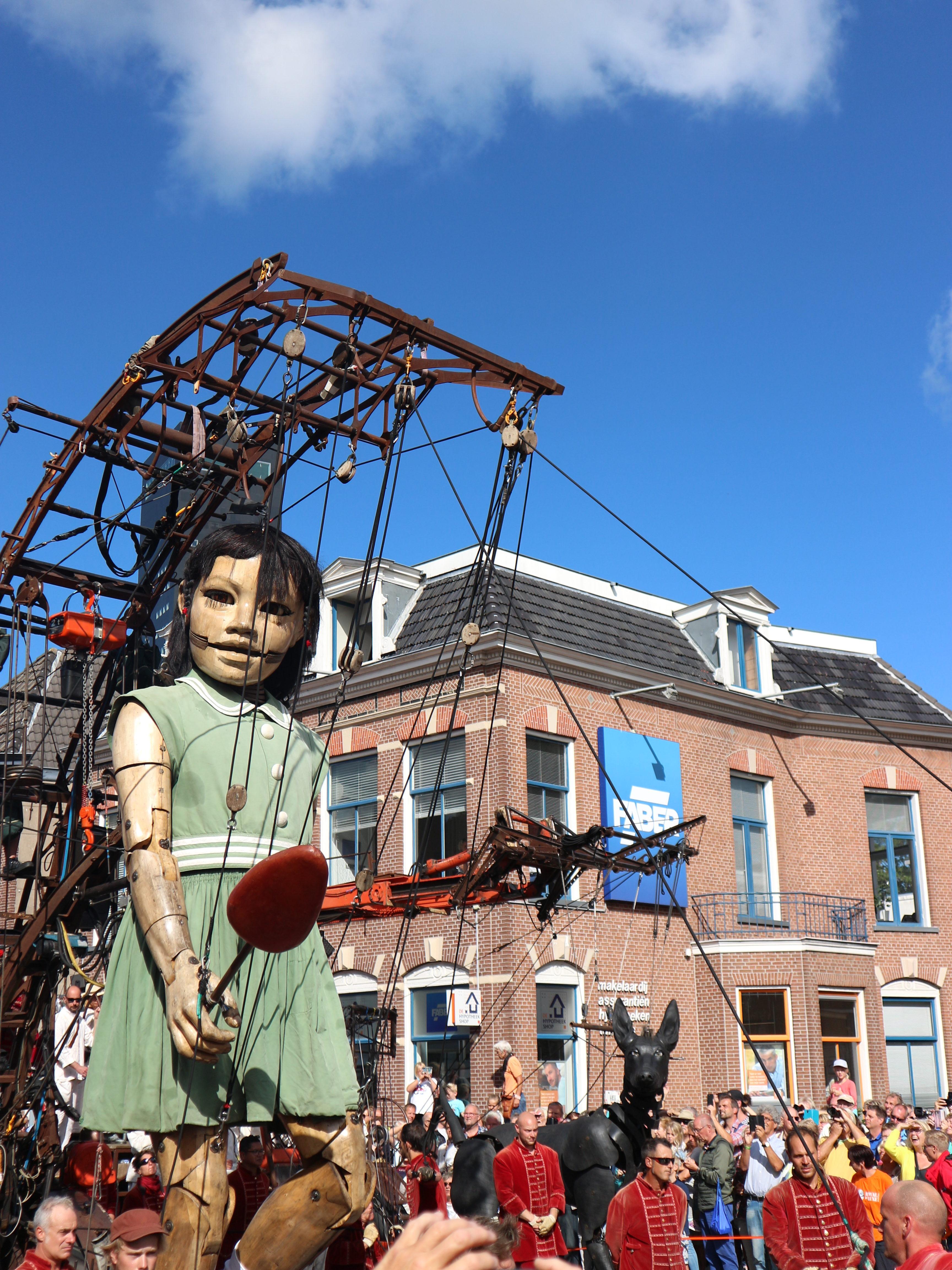 Royal de Luxe bezoekt culturele hoofdstad 2018, Leeuwarden