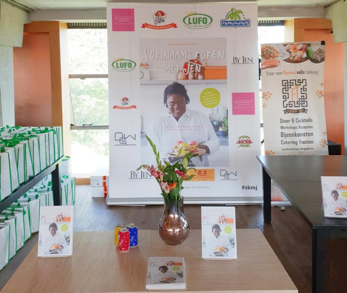 Boeklancering: Surinaams koken met Jen
