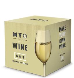 Zelfgemaakte wijn